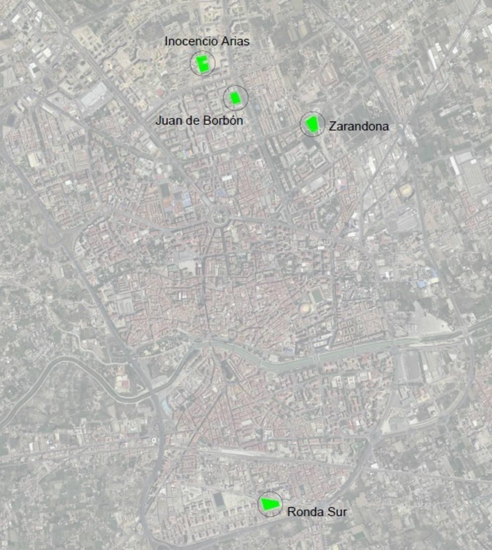 Cuatro nuevos aparcamientos disuasorios descongestionarán el tráfico en el centro