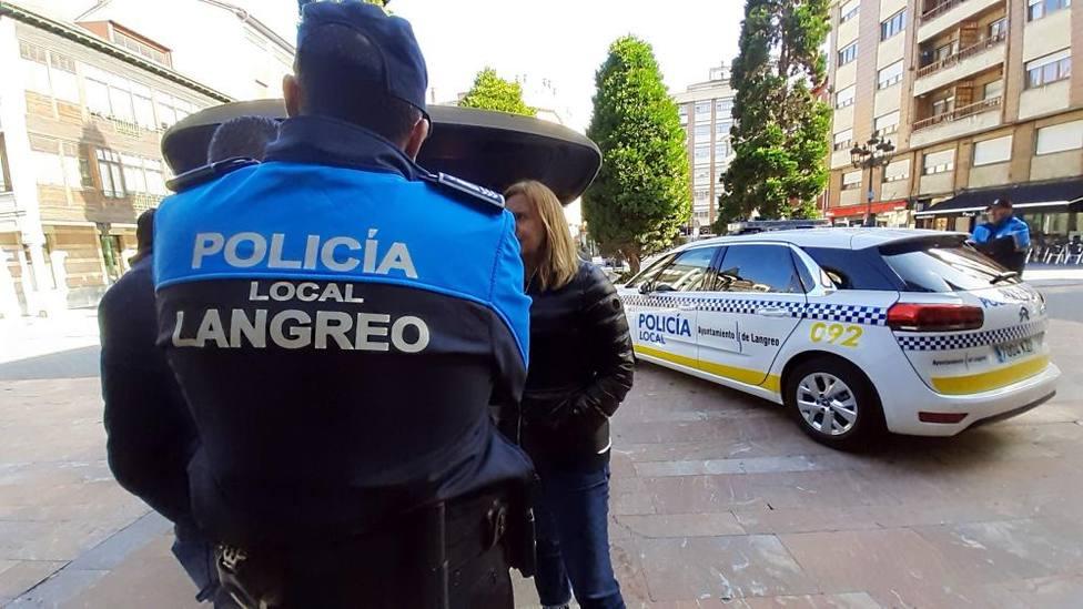 Foto Policía local de Langreo