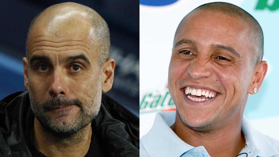 Guardiola denuncia el racismo y las redes sociales le recuerdan lo que decía de Roberto Carlos