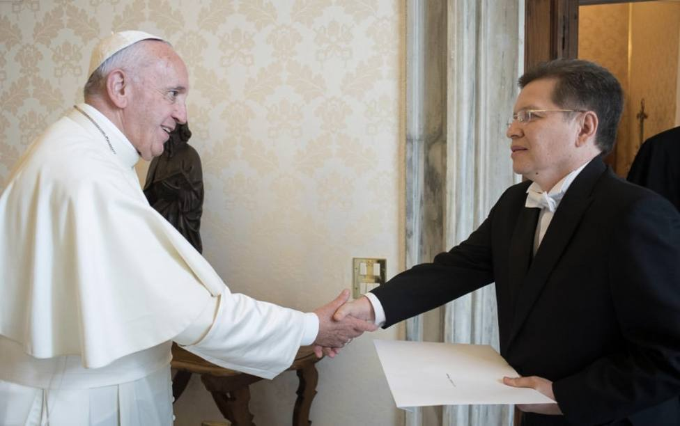 El Papa nombra responsable de la Oficina de la Pontificia Comisión para América Latina a Julio César Caballero