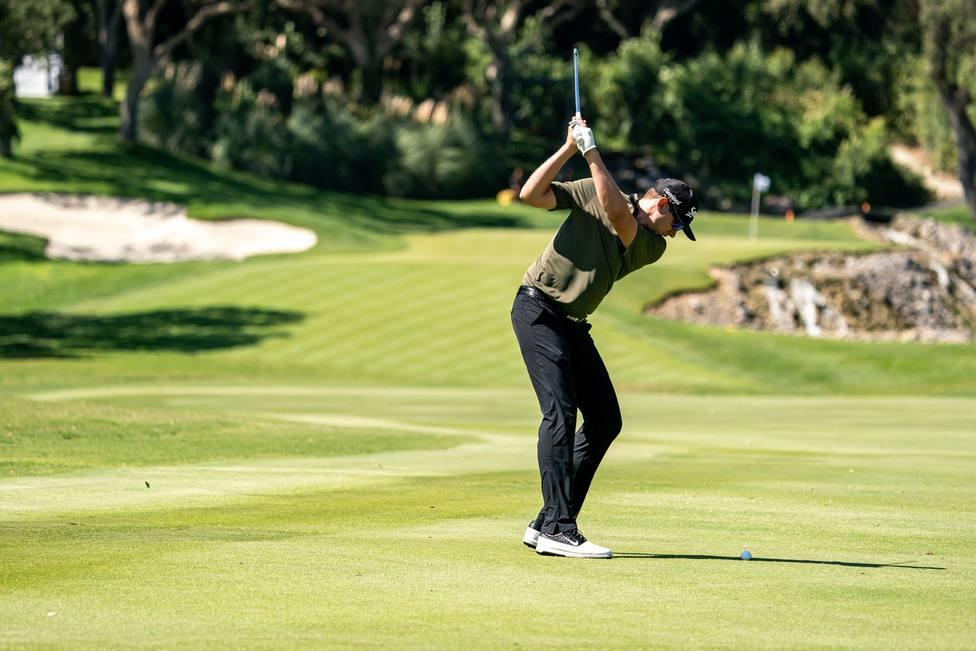 Golf.- (Crónica) El golfista estadounidense Catlin se corona en un exigente Valderrama