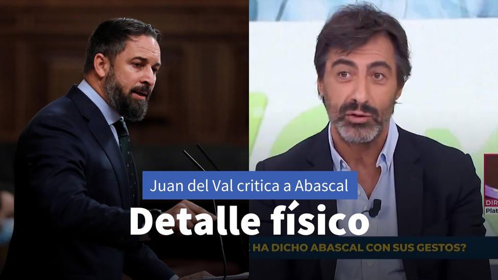 El comentario del escritor Juan del Val sobre este detalle físico de Santiago Abascal