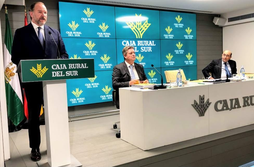 El Presidente de Caja Rural del Sur se dirige a la Asamblea de la entidad