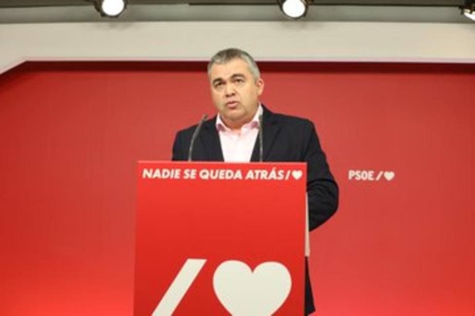 El secretario de Coordinación Territorial del PSOE, Santos Cerdán