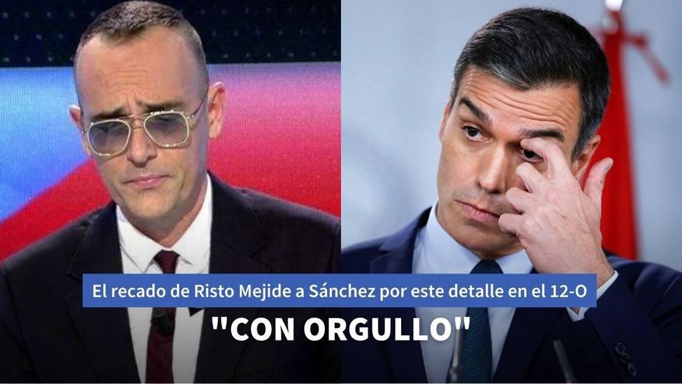 El recado de Risto Mejide a Pedro Sánchez en 'Todo es Mentira' por este detalle durante el Día de la Hispanida