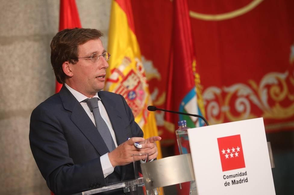 Coronavirus.- Almeida pide ampliar hasta medianoche el horario de las terrazas de bares y restaurantes en Madrid