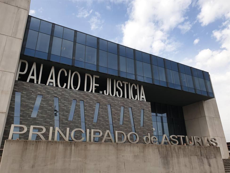 Foto de la fachada del Palacio de Justicia de Gijón