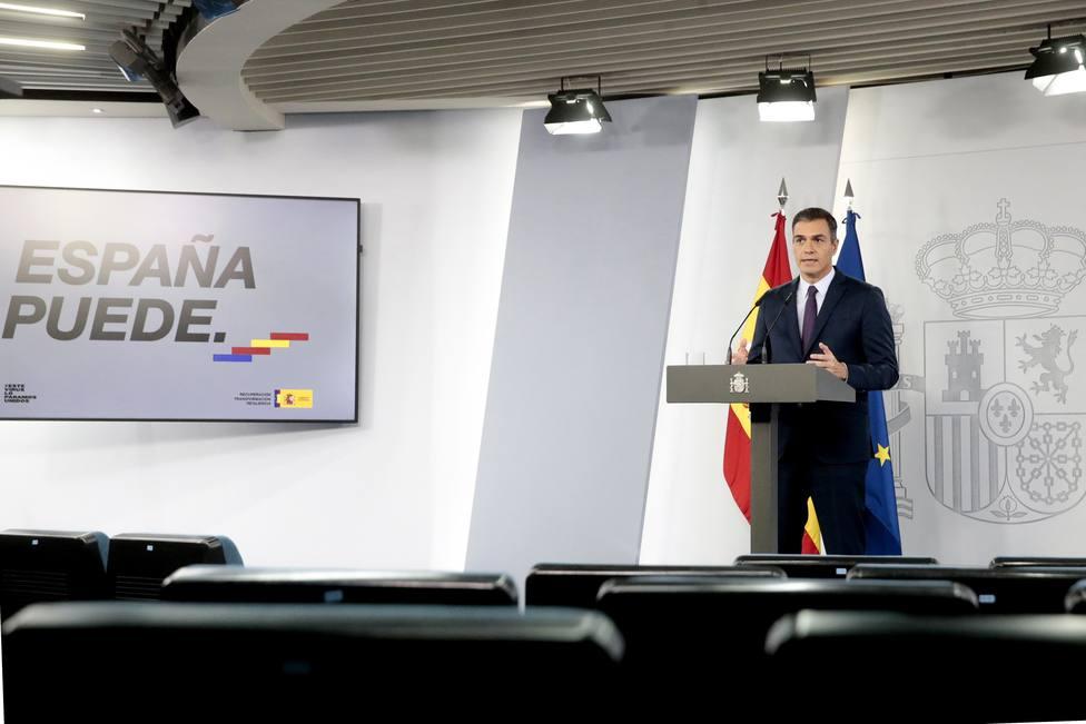 Spanish Prime Minister Pedro Sanchez press conference