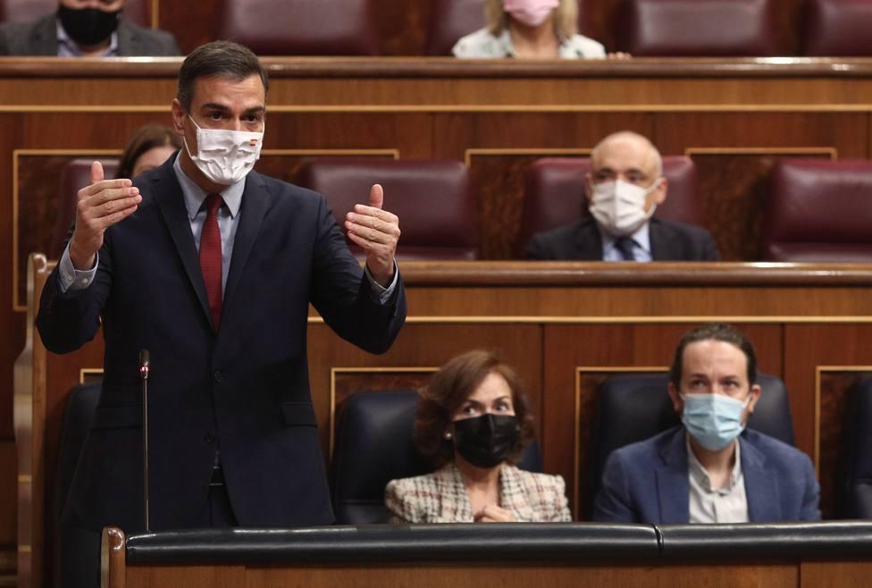 PP y Cs piden cuentas a Sánchez, Calvo e Iglesias en el Congreso sobre los pactos con Bildu y ERC