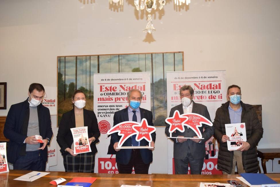 Deputación de Lugo y Federación se unen para impulsar el comercio local en esta Navidad