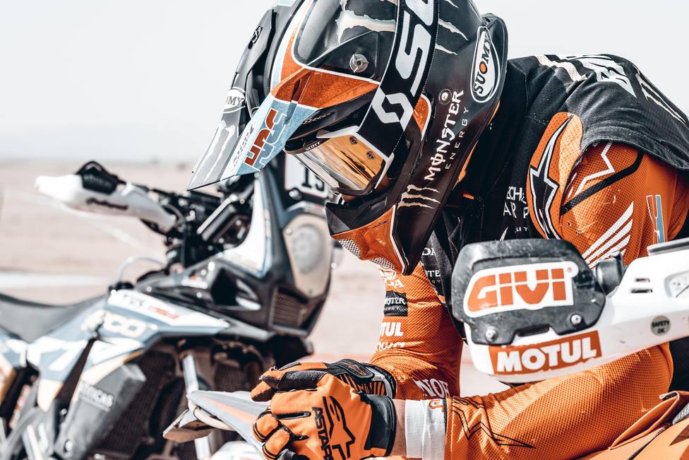 Joan Barreda no consigue finalizar el rally Dakar