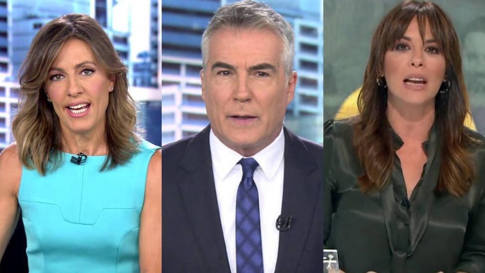 Un año informando ante una cámara de la covid-19, ¿ha pasado factura a los presentadores más reconocidos?