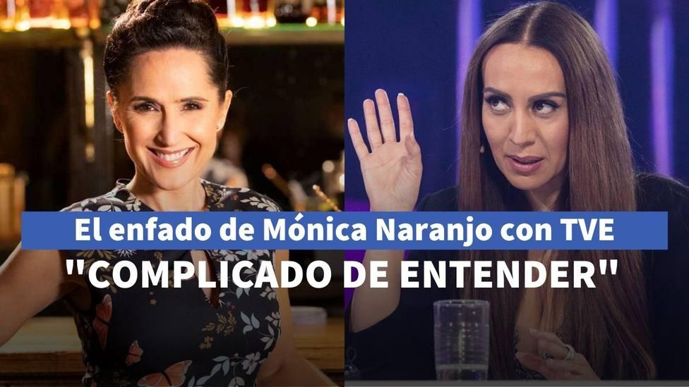 Mónica Naranjo, enfadada con TVE por el adjetivo con el que han descrito su carrera: Complicado de entender