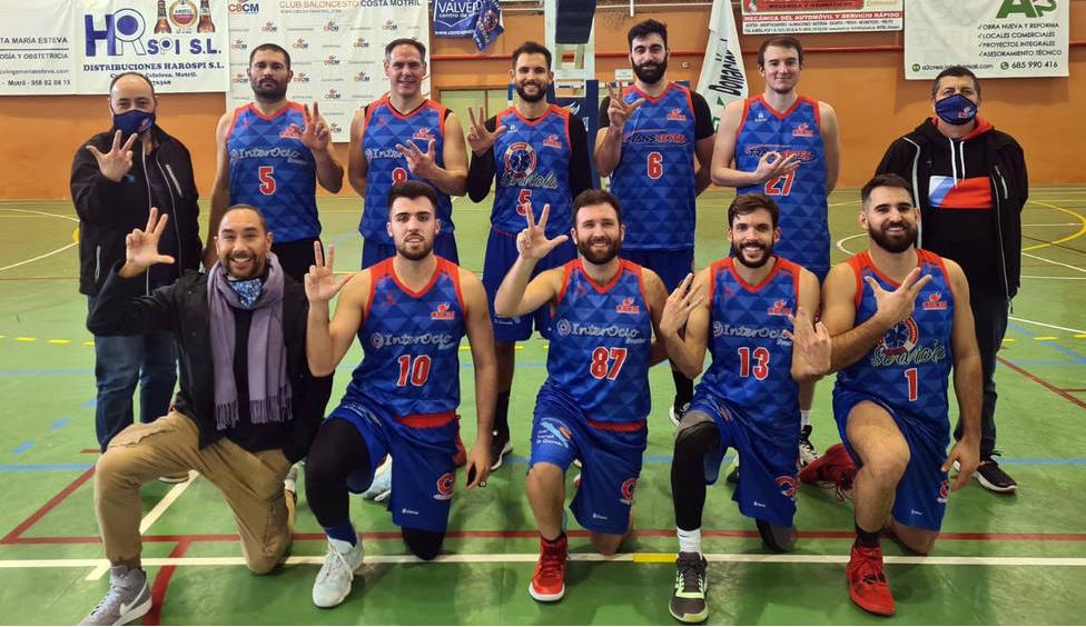El Club Baloncesto Costa Motril pone en liza a nueve equipos en competiciones provinciales