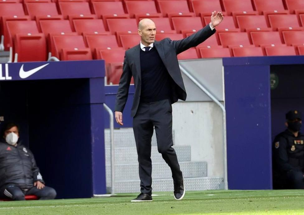 Zidane: El árbitro ha visto la mano en el VAR y ha decidido no pitar penalti, tenemos que respetarlo