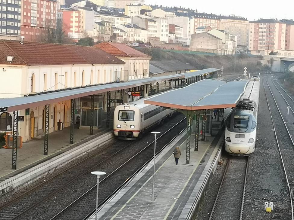 Pardo de Vera viene a Monforte para anunciar que Adif gastará 546 millons en el corredor Lugo-Ourense