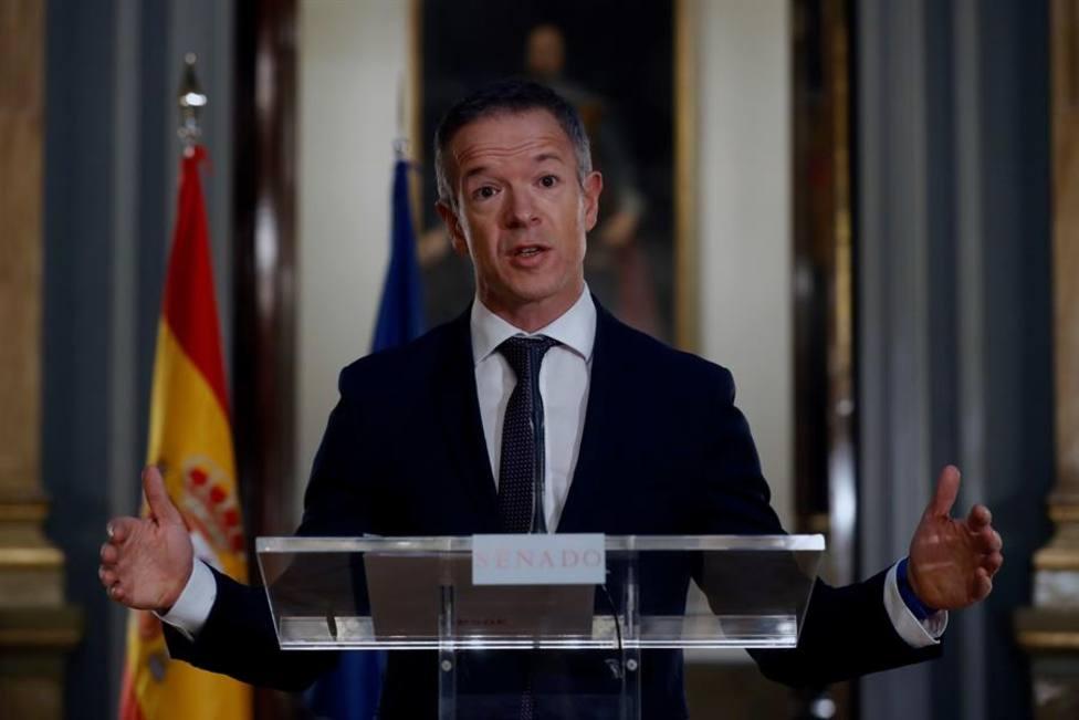 El portavoz del grupo parlamentario socialista en el Senado, Ander Gil García