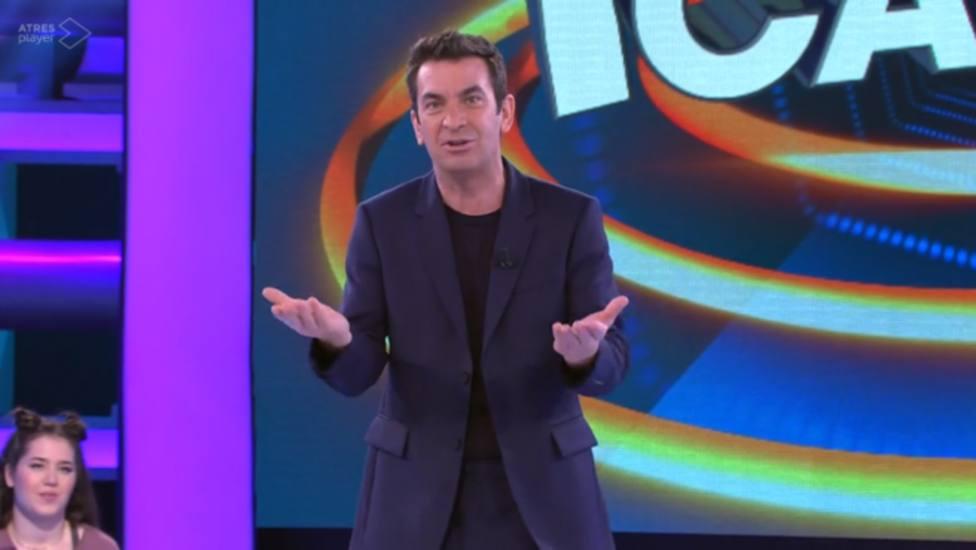 Arturo Valls explica la factura que sufre con la nueva dinámica de Ahora Caigo: Me he bloqueado