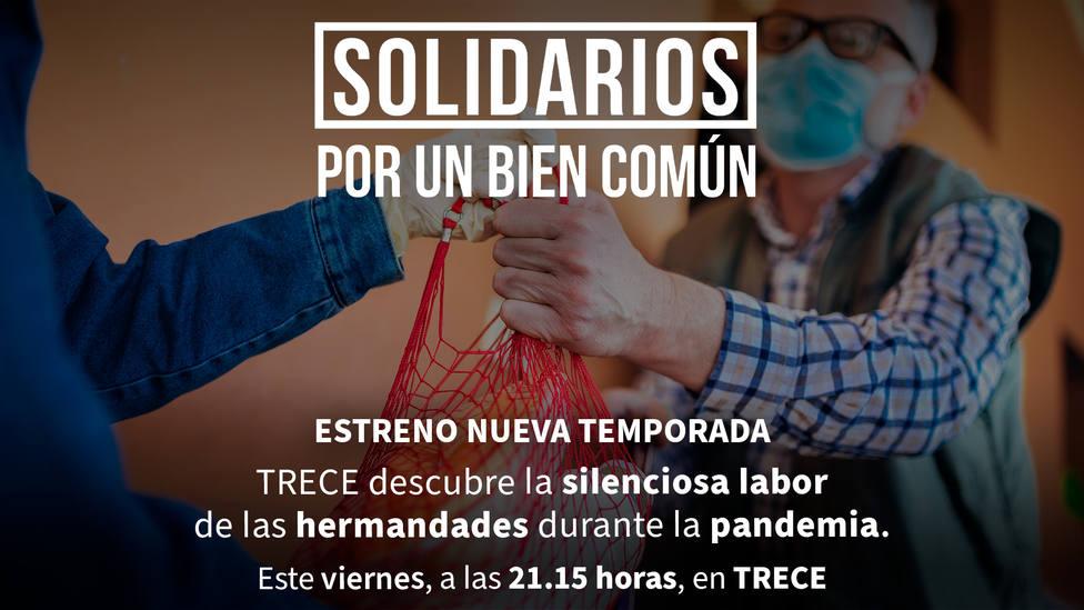 Este viernes, estreno de Solidarios por un bien común