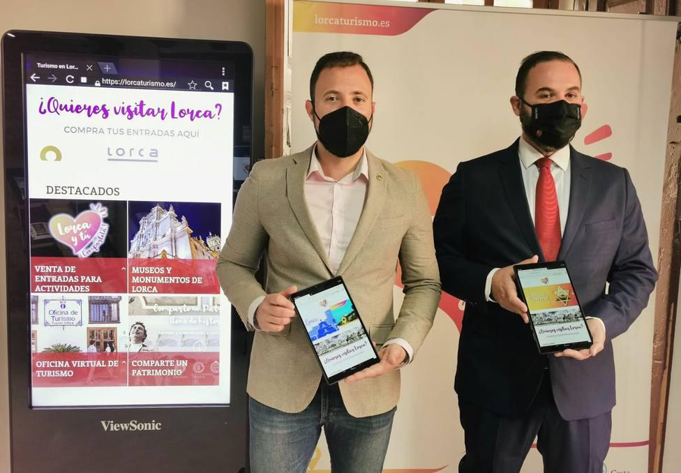 La Comunidad apoya la mejora de las herramientas tecnológicas en la información turística de Lorca