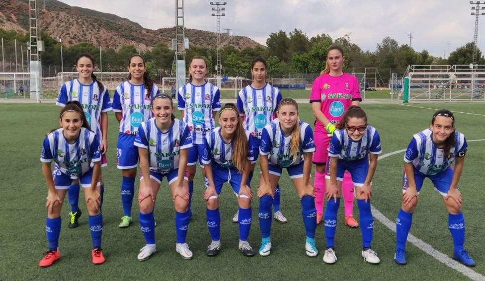 El Lorca Féminas cae 0-2 contra el Elche Féminas