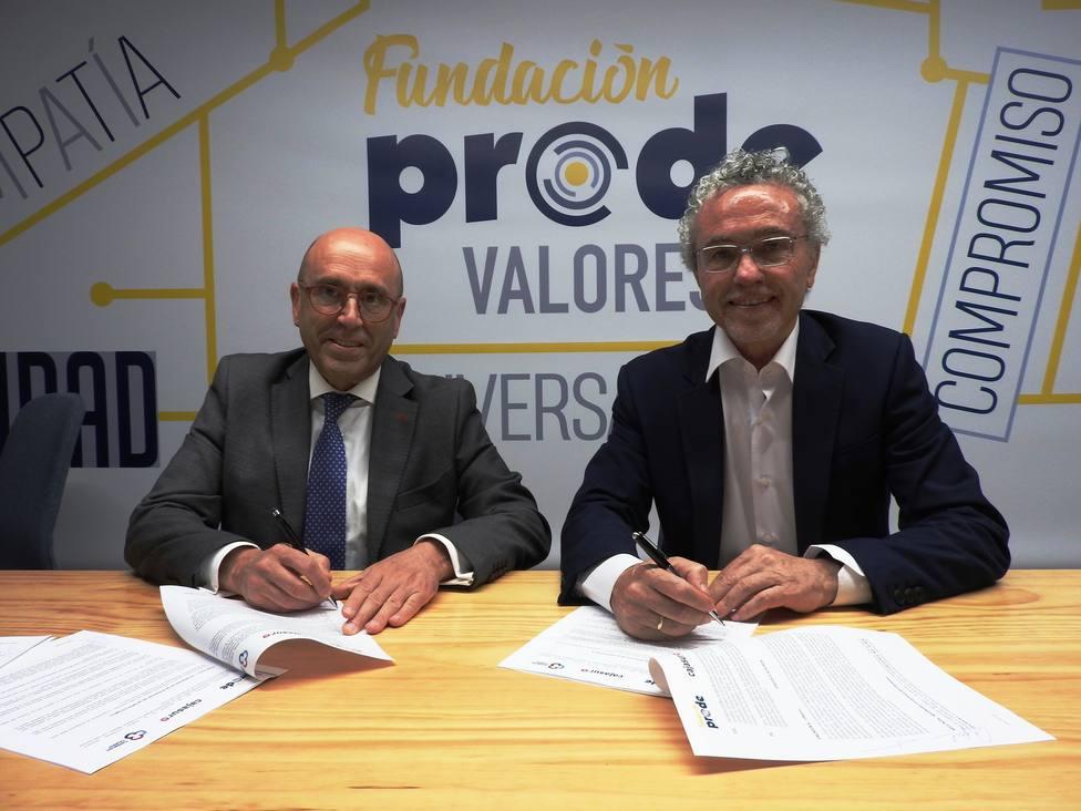 Cajasur y Prode anuncian nuevos proyectos conjuntos en favor de la inclusión social