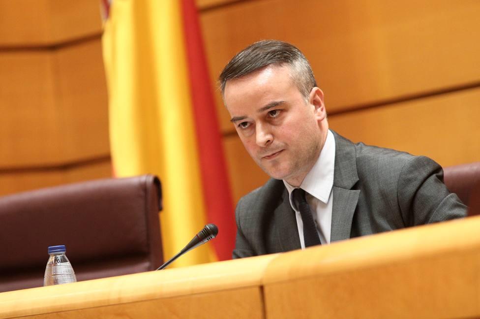 El BOE publica el cese de Iván Redondo. Imagen de archivo de una comparecencia en el Senado
