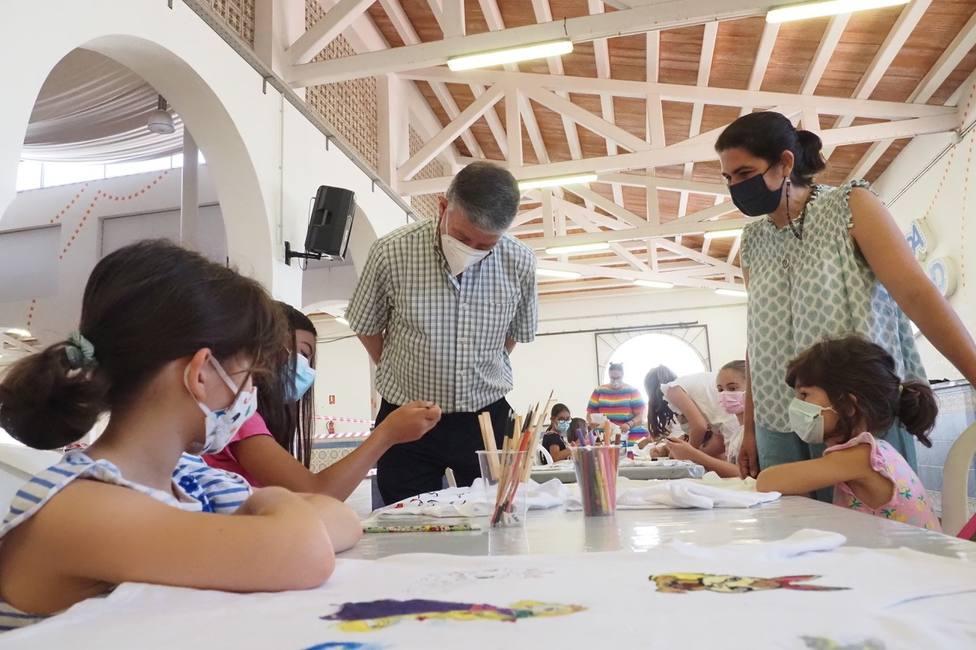 Alcalde de Palos, Carmelo Romero en uno de los cursos