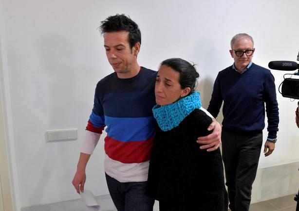 Los padres de Gabriel Cruz. Archivo