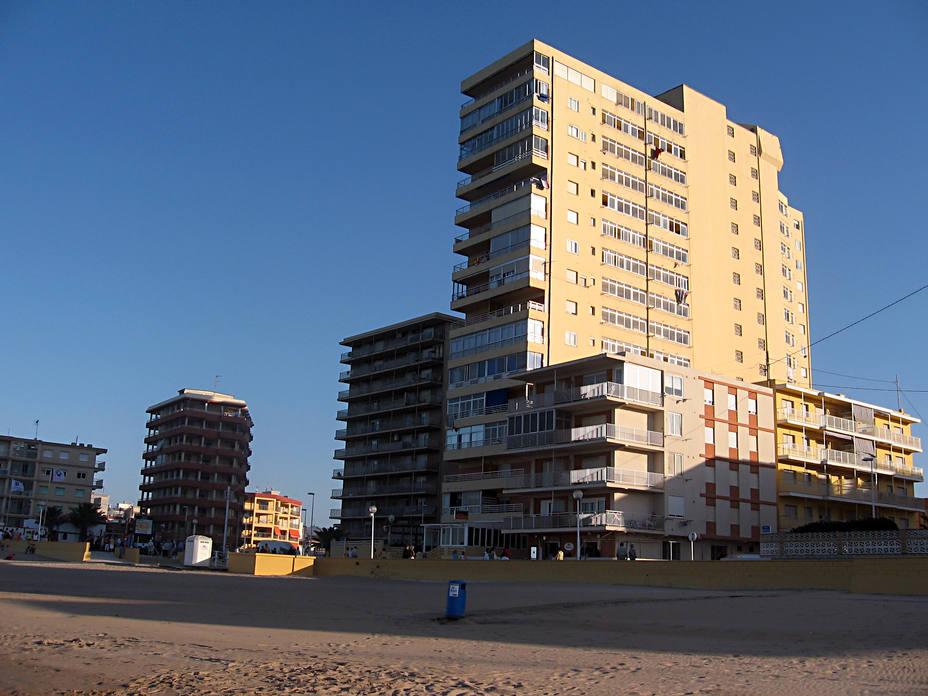La playa de la localidad valenciana de Bellreguard
