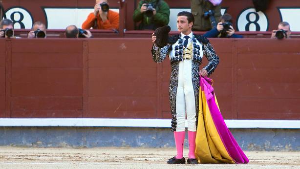 Alberto Aguilar durante su última actuación de luces en la pasada Feria de San Isidro