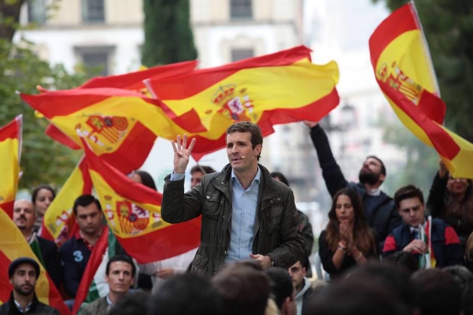 Casado subraya que Navarra no es anexo de nada y recuerda que el PP ya estuvo en Alsasua en junio sin hacer ruido