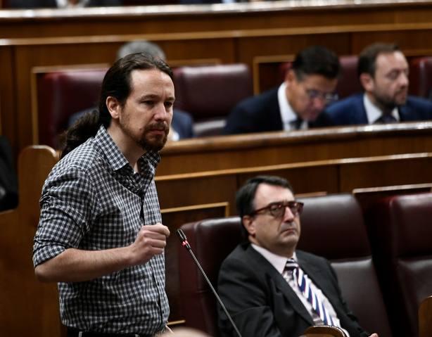 Pablo Iglesias exige a Casado que dimita y asuma la responsabilidad política de la polémica de Cospedal