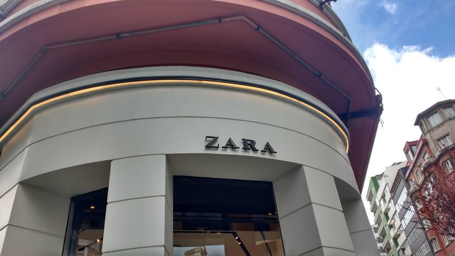 Tienda de Zara en Juan Flórez (A Coruña)