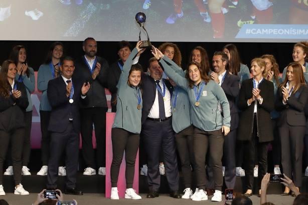 Claudia Pina: Ganar el Mundial es un sueño y hacerlo realidad ha sido increíble