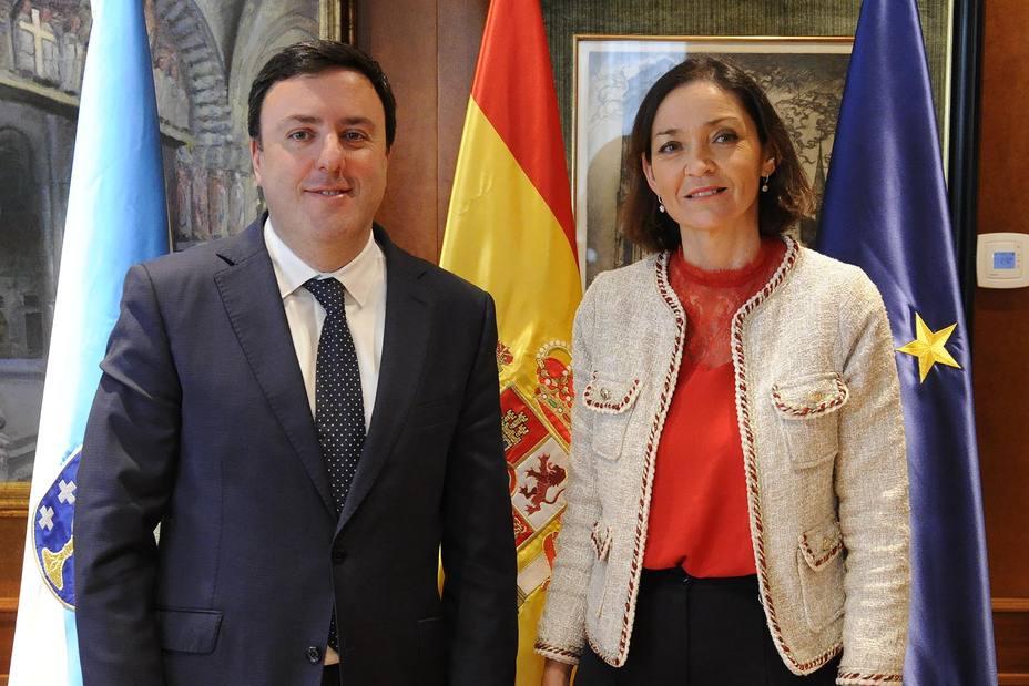 Valentín González Formoso y Reyes Maroto
