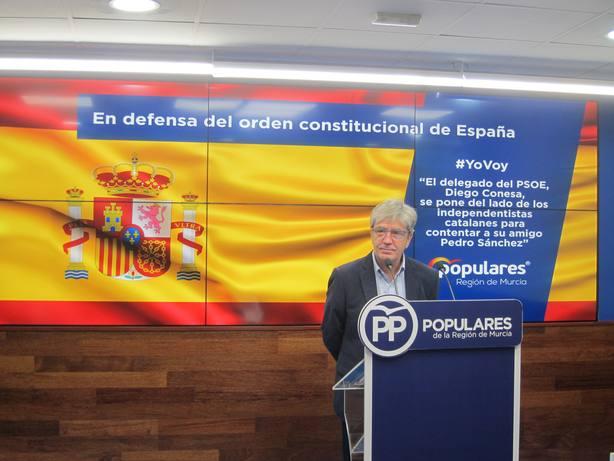 El PP de Murcia pondrá autobuses gratis para quien quiera viajar a la concentración de Madrid