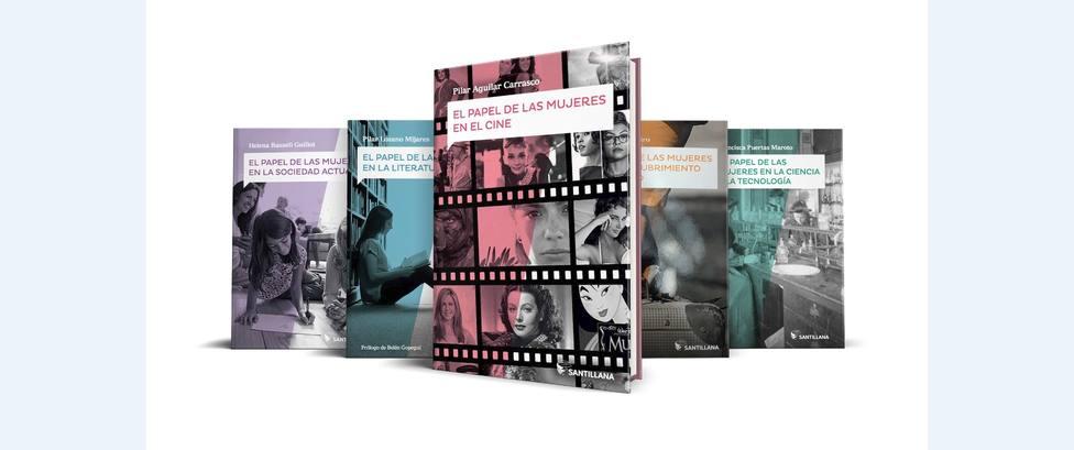 Santillana presenta mañana en Madrid un proyecto editorial para visibilizar el papel de las mujeres en la historia