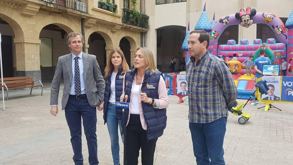 González (PP) asegura, sobre un posible apoyo de Vox, que un gobierno legítimo es el que sale de las urnas