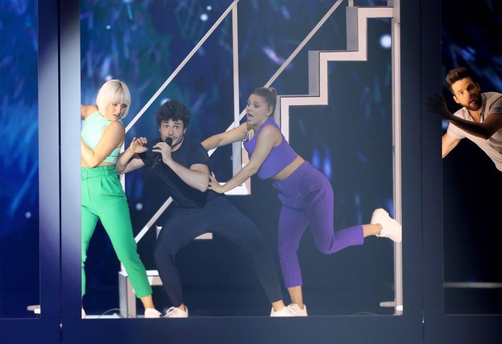 Así ha sido la actuación de Miki en el festival de Eurovisión 2019