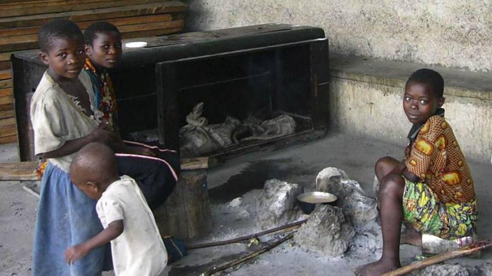 Niños en Centroáfrica