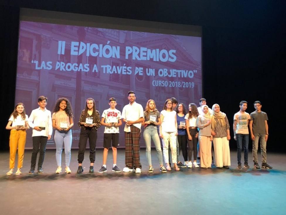 Sanidad entrega los Óscar a los mejores cortos contra las drogas realizados por alumnos de secundaria