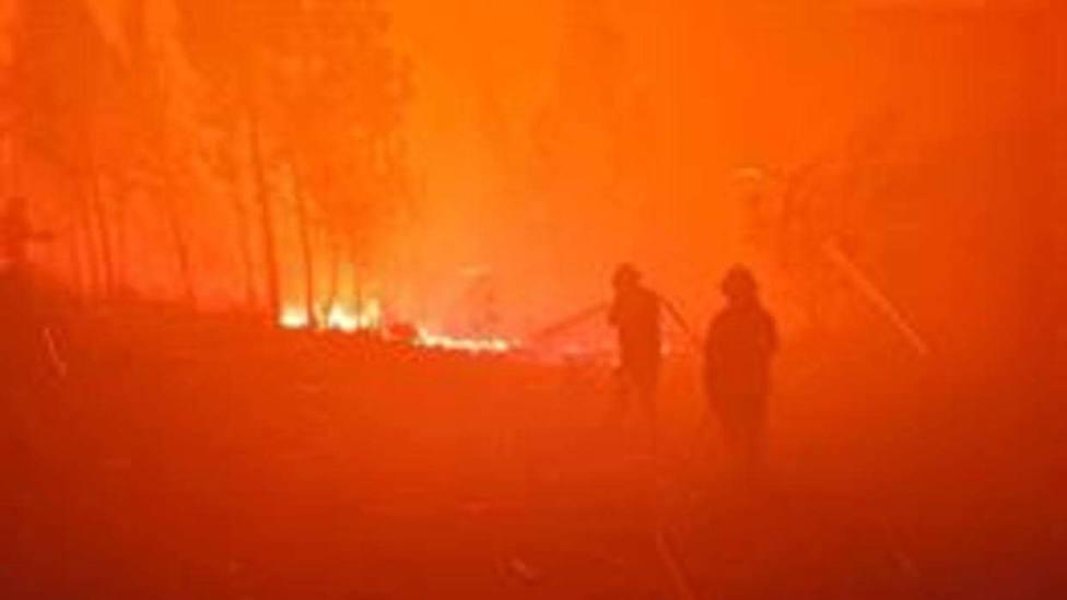 Al menos 39 heridos a causa de los incendios forestales en Portugal