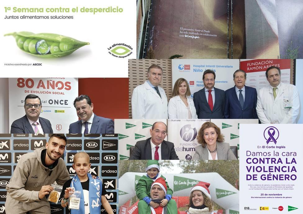 El Corte Inglés organizó más de 6.000 acciones y proyectos sociales, culturales y deportivos en 2018