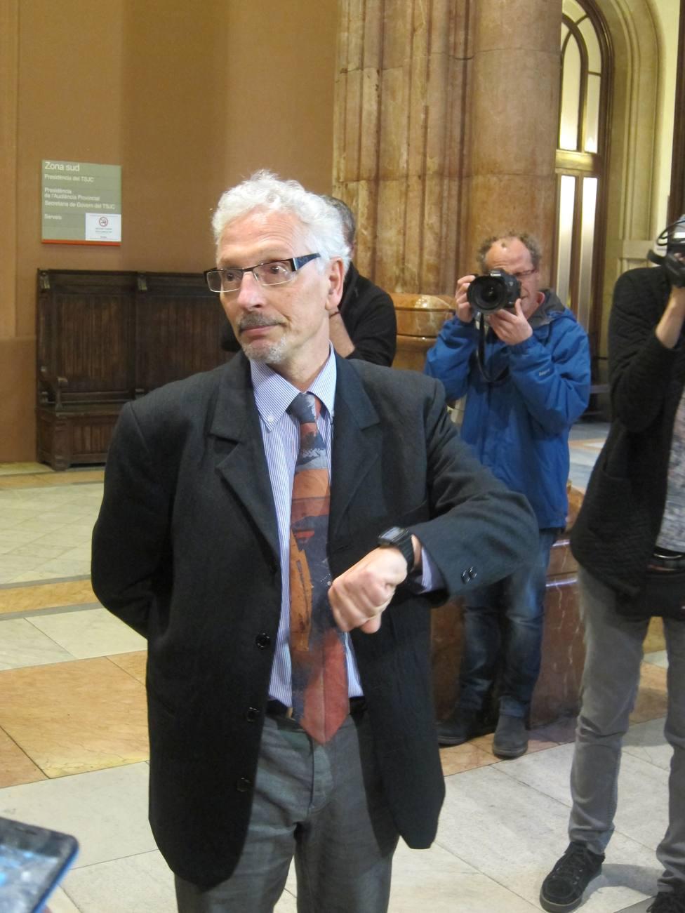 El juez Vidal tramita su jubilación 5 meses después de reincorporarse a un juzgado de los Social de Barcelona