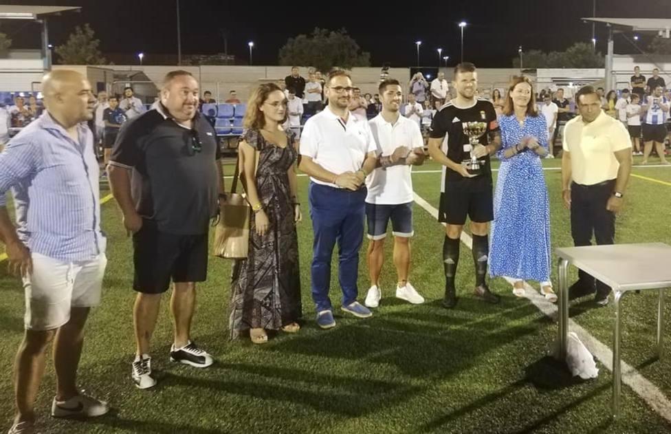 El Trofeo Playa y Sol viaja a Lorca tras ganar el equipo lorquino por 1-3 con goles de Eric, Carrasco y Bolo