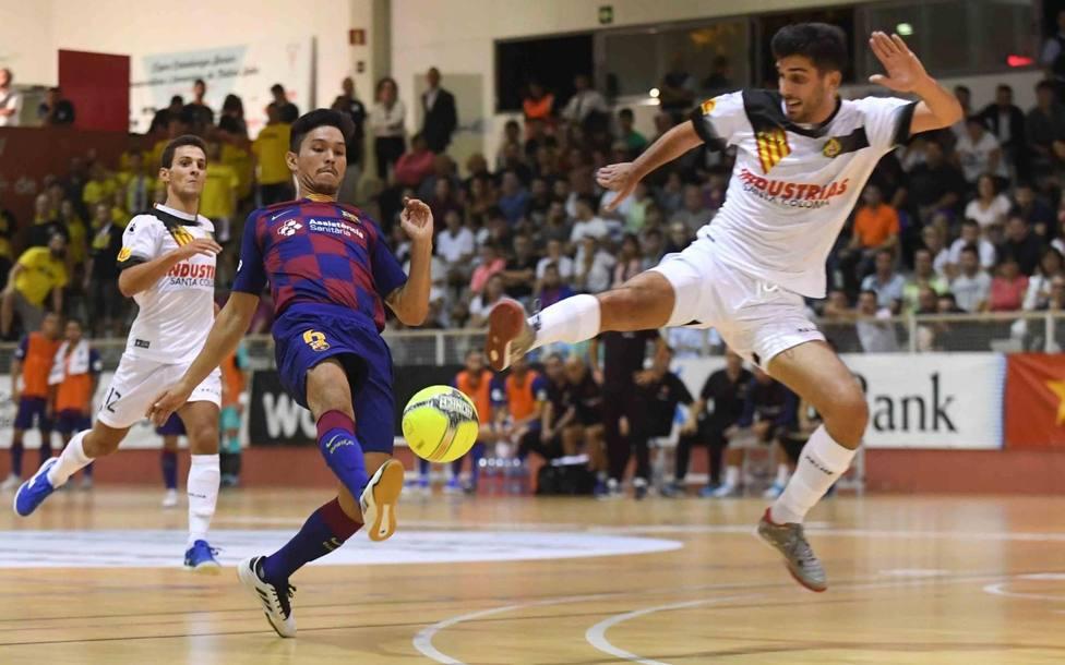 Industrias Santa Coloma sorprende al Barça en la Copa Catalunya