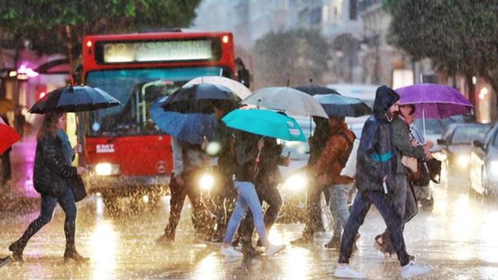 Imagen de archivo. Lluvia. Fuente: Agencias