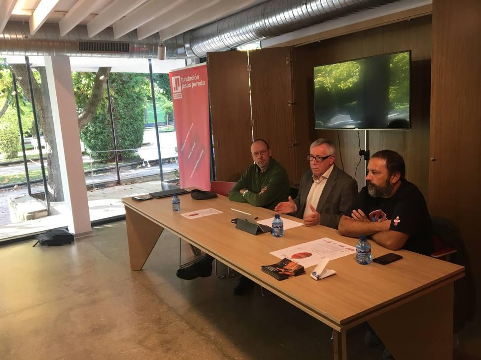 Ignacio Fernández Toxo ha participado hoy en la segunda edición del Otoño Sindical en Soria