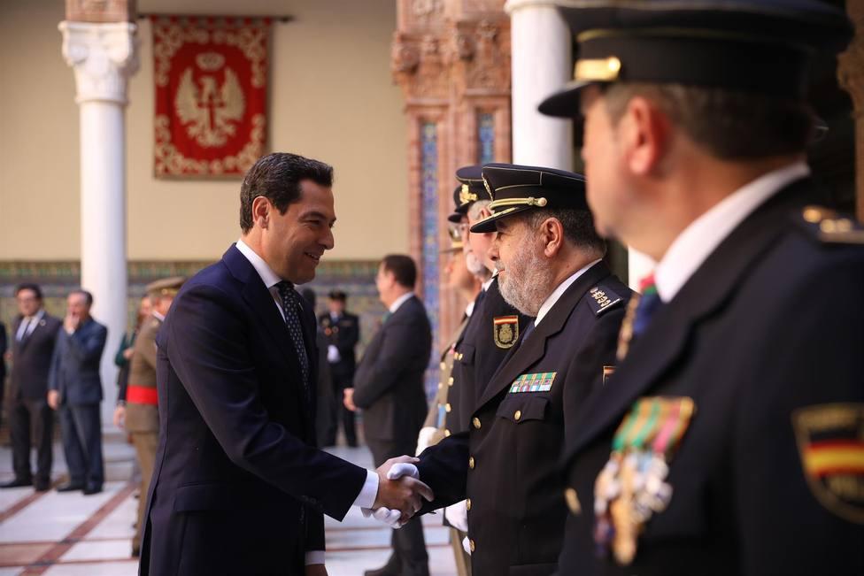 Juanma Moreno , Presidente de la Junta de Andalucía